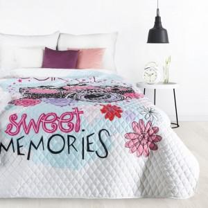 Kvalitní prošívaný přehoz na postel do dětského pokoje