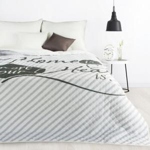 Prošívaný moderní přehoz přes postel do ložnice