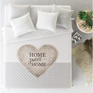 Francouzský přehoz na postel se srdíčkem