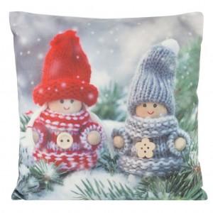 Dekorační povlaky na polštáře s motivem Vánoc