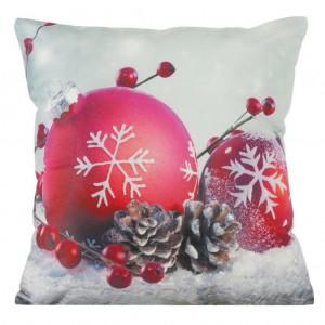 Ozdobný povlak na polštář s vánočním motivem