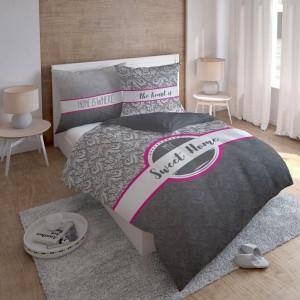 Sweet Home povlečení z bavlny