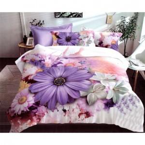 Moderní povlečení na postel s motivem květů