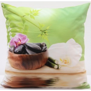 Kvalitní povlak na polštář s motivem Feng shui