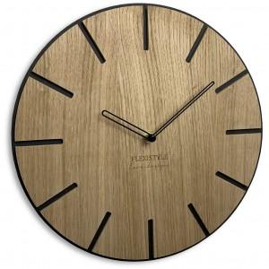 Luxusní hodiny ze dřeva Wood Art