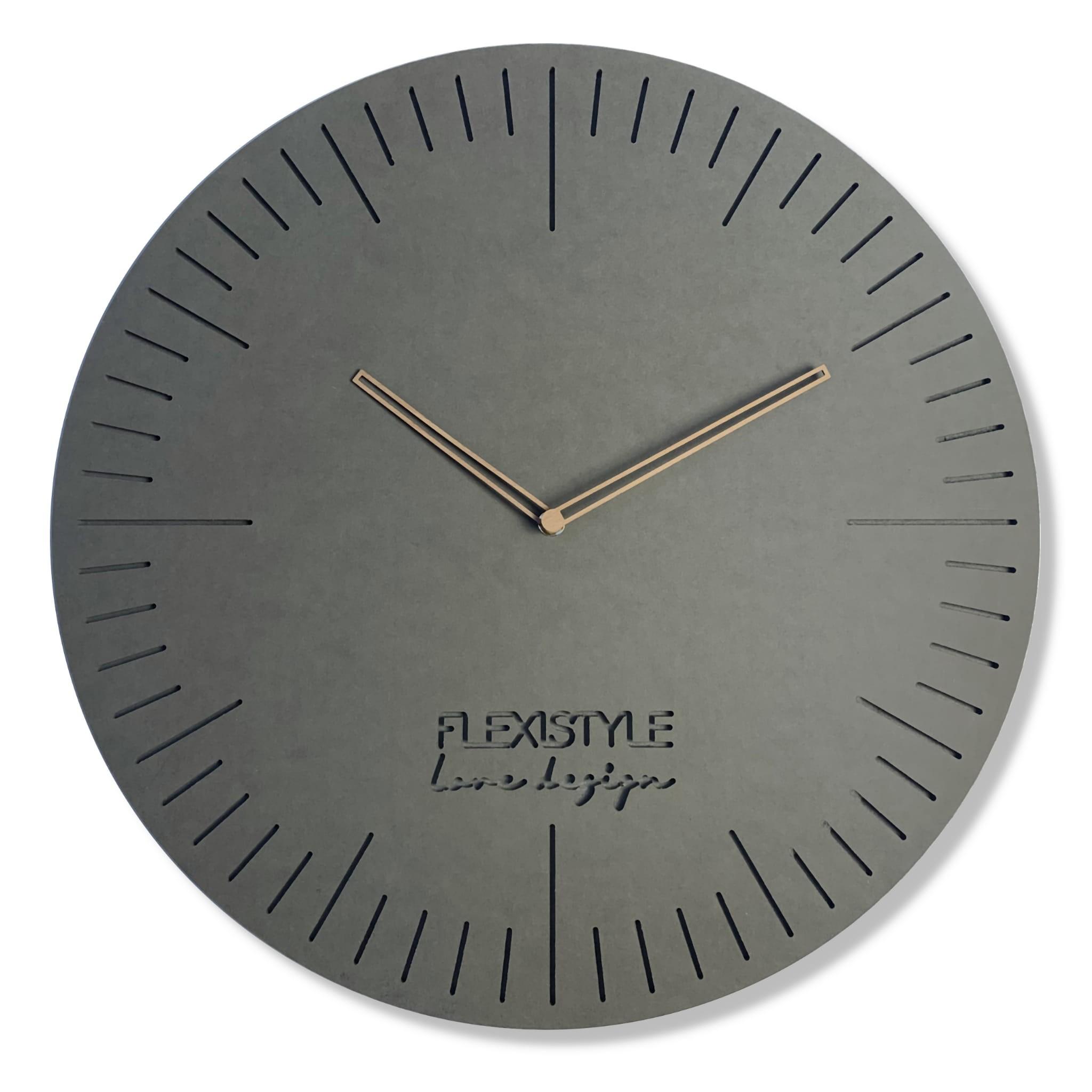 Elegantní hodiny do obývacího pokoje NATURAL 50cm