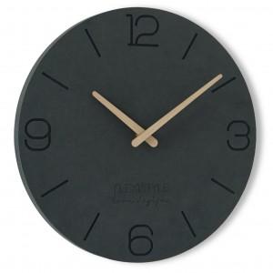 Moderní nástěnné hodiny ze dřeva o průměru 30cm