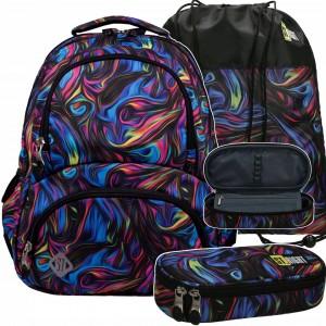 Stylový školní batoh pro teenagery