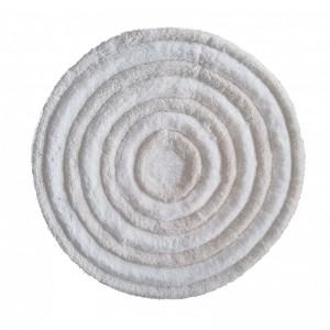 Kulatý koberec v krémové barvě s průměrem 90cm