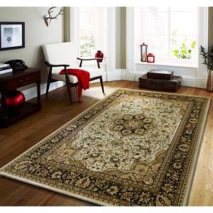 Krémový vintage koberec do ložnice