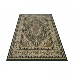 Elegantní koberec v zelené barvě