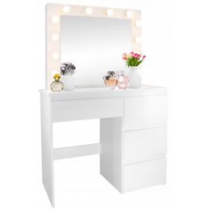 Toaletní stolek se světýlky a šuplíky