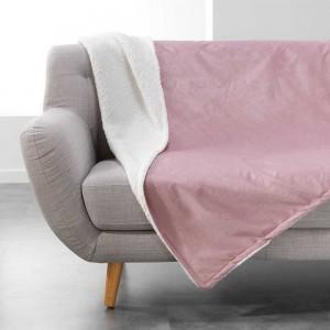 Jednobarevná deka pudrově růžová AUSTRAL