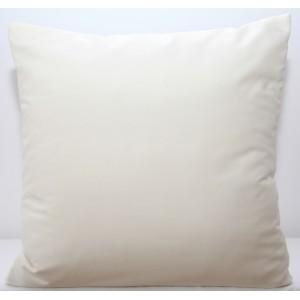 Měkký bílý povlak na polštáře z mikrovlákna