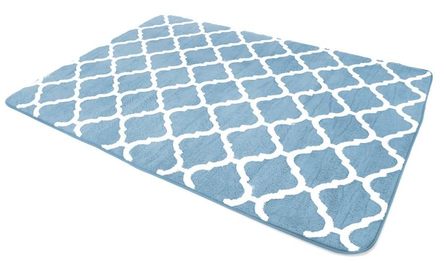 Koberce do ložnice v modré barvě 160 x 230 cm