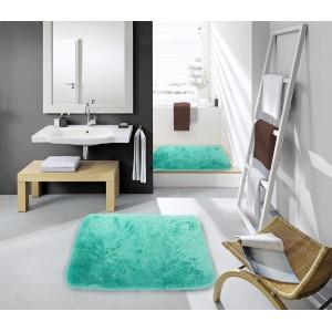 Koupelnové předložky zelené barvy