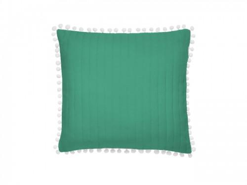 Originální povlak na polštářek v zelené barvě 45x45 cm