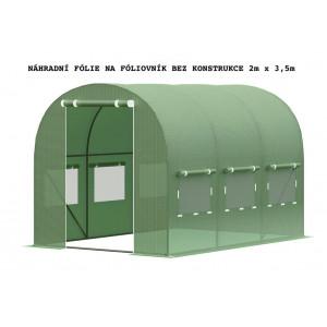 Fólie bez konstrukce na zahradní fóliovník 2m x 3,5m