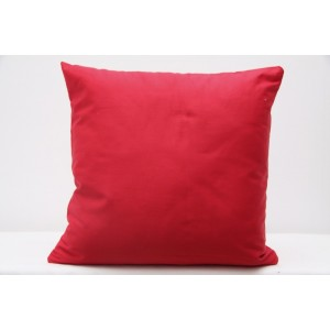 Nádherný červené povlak na polštář z bavlny