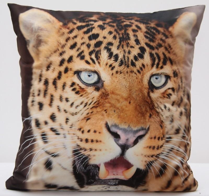Luxusní povlak na polštář s motivem Leoparda
