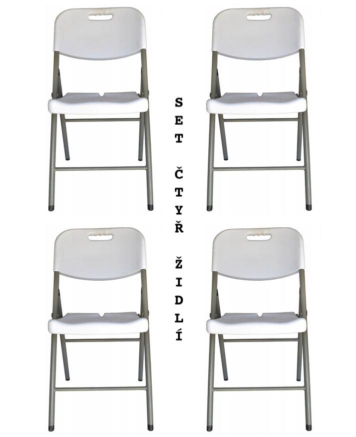 Zvýhodněný set čtyř cateringových židlí