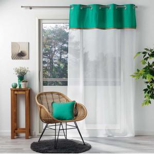 Originální dlouhá záclona na okna 140 x 240 cm