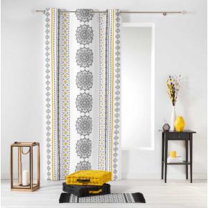 Moderní závěs s ornamenty 140 x 240 cm