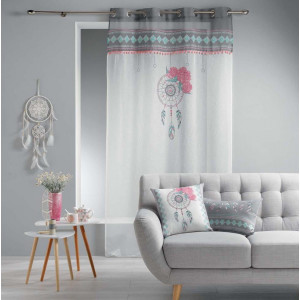 Moderní záclona s obrázkem lapače snů 140 x 240 cm