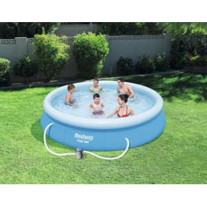 Kvalitní bazén na zahradu s filtrací 366 x 76 cm