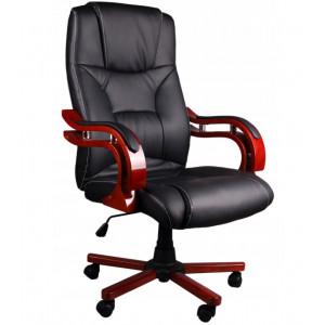 Pohodlné a kvalitní kancelářské křeslo v černé barvě