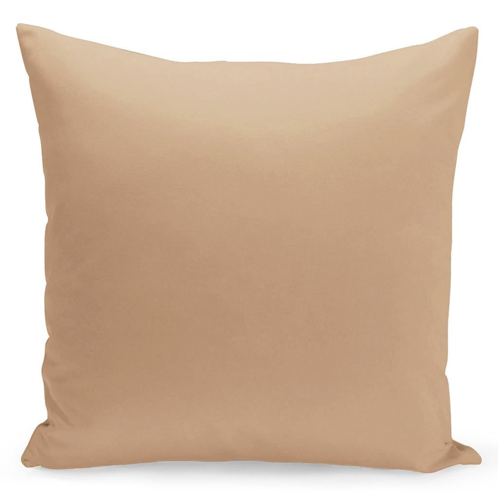 Jednobarevný povlak béžové barvy