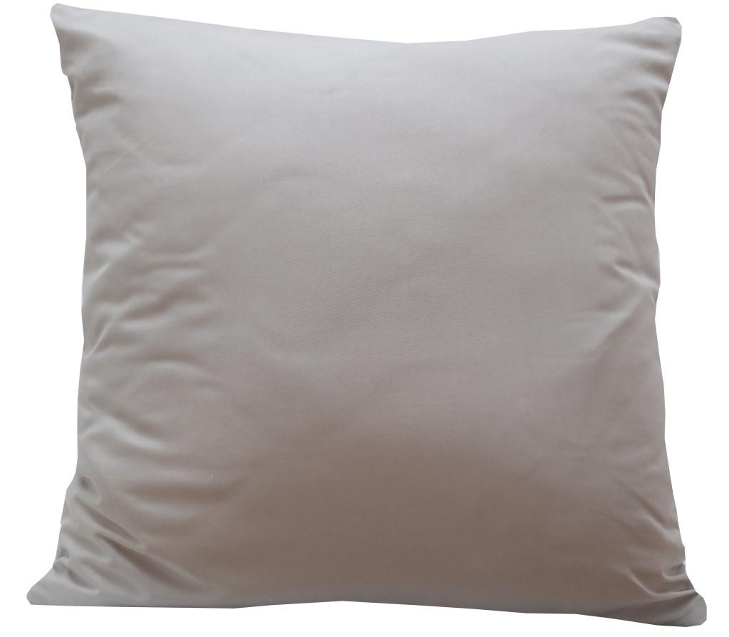 Jednobarevný povlak v slabě šedé barvě