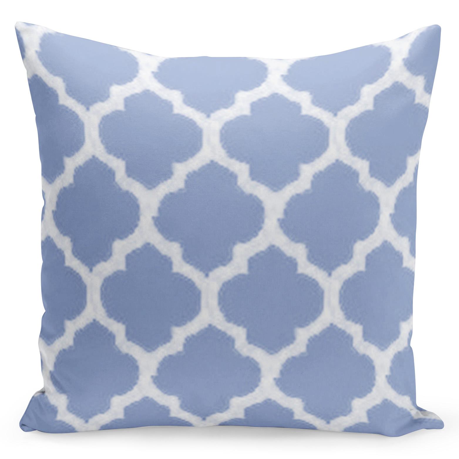 Pohodlný povlak s fialovými a bílými barvami