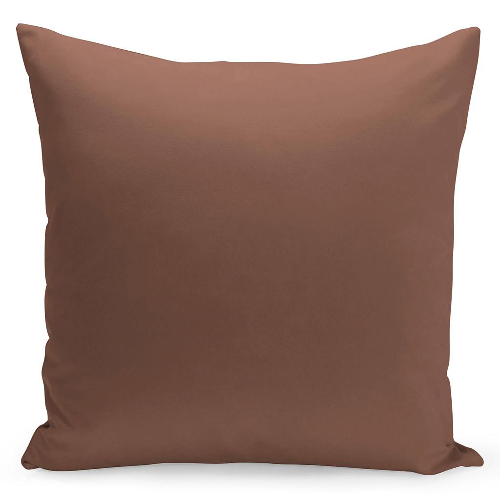 Jednobarevný povlak v silně hnědé barvě