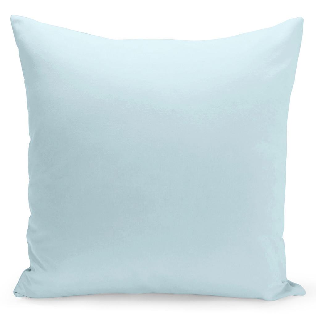 Jednobarevný povlak v světle modré barvě