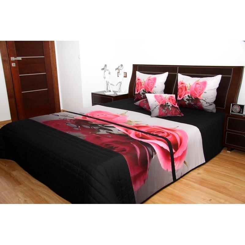Přehozy na postel 3d s barevným potiskem