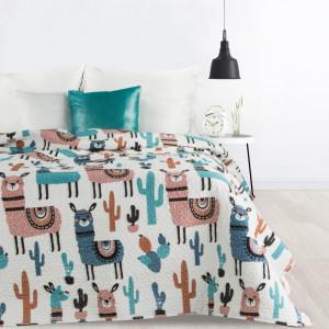 Stylový prošívaný přehoz na postel do dětského pokoje