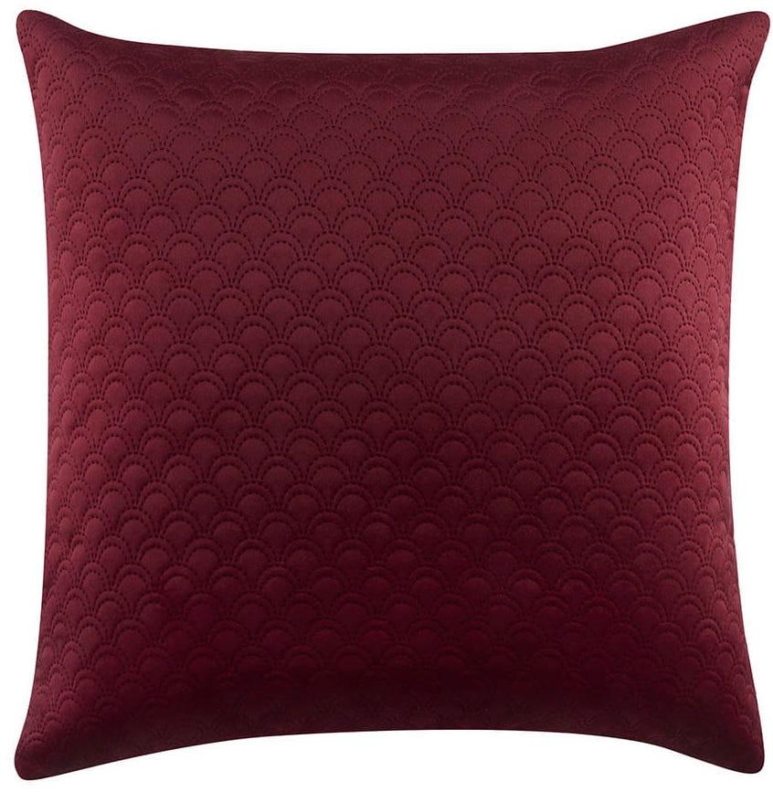 Červený povlak na polštář 45 x 45 cm
