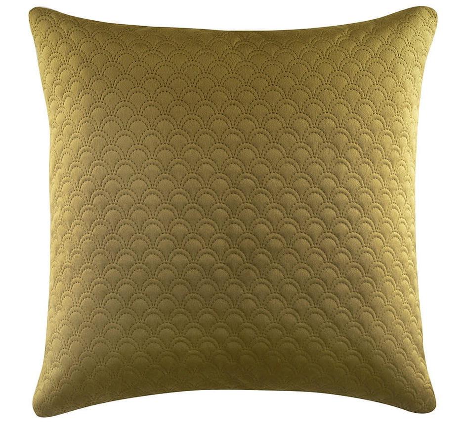 Zlatý povlak na polštář 45 x 45 cm