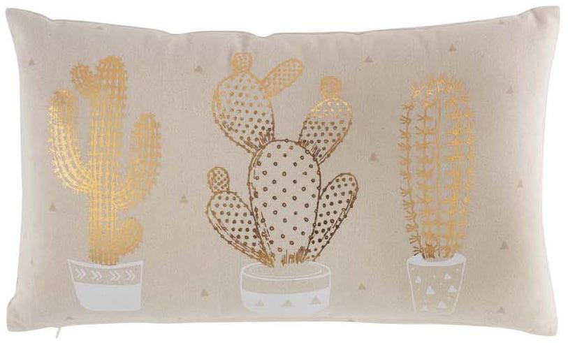Polštař s motivem kaktusu 30 x 50 cm