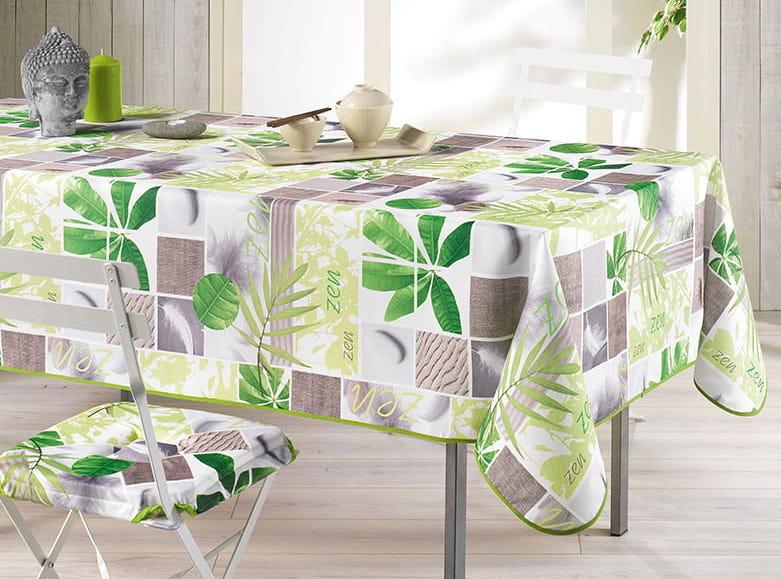 Dekorační ubrus na stůl s tropickym motivem 150 x 240 cm