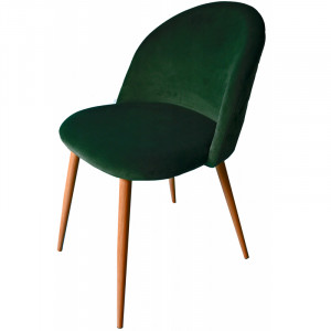 Moderní čalouněné křeslo zelené barvy