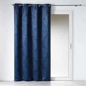 Luxusní zatemňovací závěs modré barvy 140x240 cm