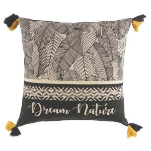 Exkluzivní dekorační polštář s třásněmi