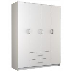 Elegantní bílá skříň s úložným prostorem