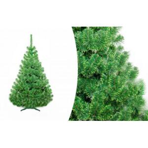 220 cm Vánoční stromek jedle v zelené barvě