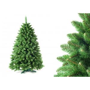 Hustý stromek na vánoce v zelené barvě 180 cm