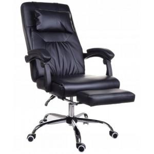 Pohodlné křeslo do kanceláře s masážním polštářem
