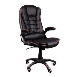 Nastavitelné kancelářské křeslo v černé barvě