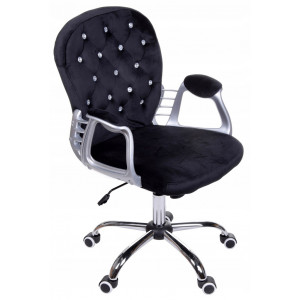 Kvalitní kancelářské křeslo v černé barvě